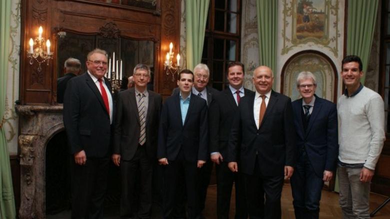 Leonhard Müller, Stefan Lütke, André Anders, Nobert Nettekoven, Andreas Stolze, Emmerich Müller, Ingo Helwig, Thomas Oster