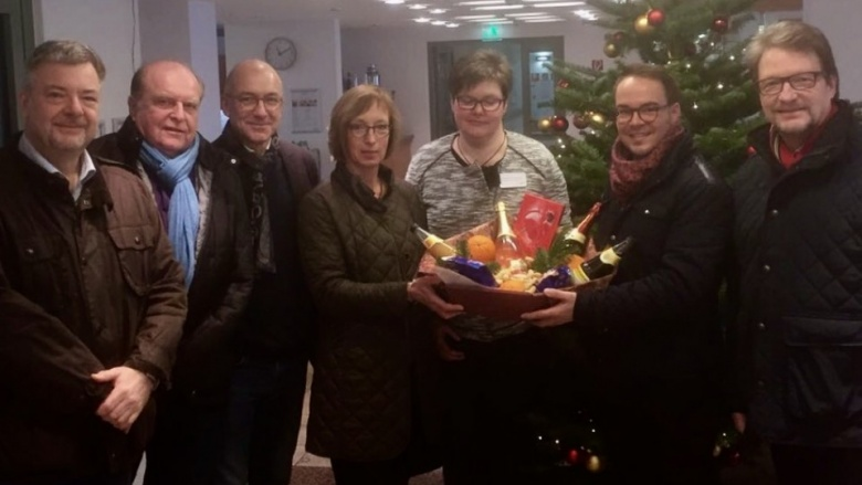 Die Weihnachtsboten der Meckenheimer CDU