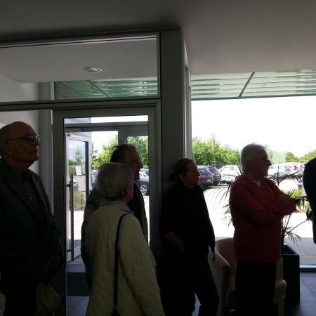 SenU - Besuch Druckcenter Meckenheim