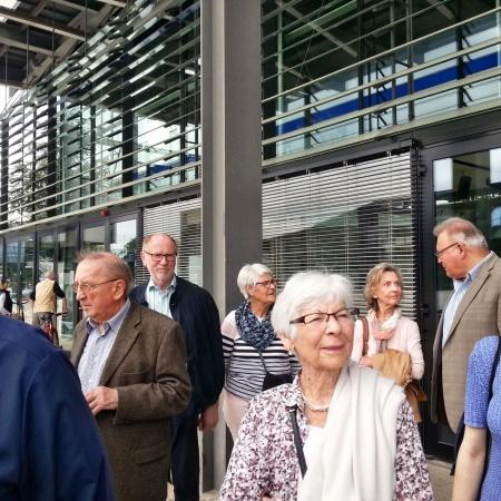 SenU - Besuch World Conference Center Bonn