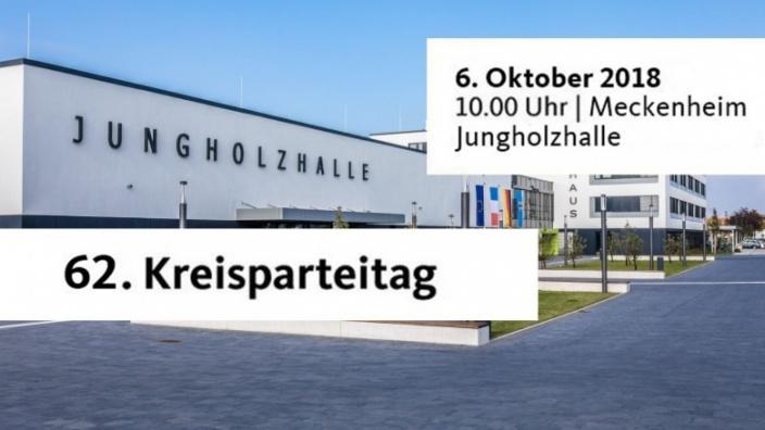 62. Kreisparteitag der CDU Rhein-Sieg