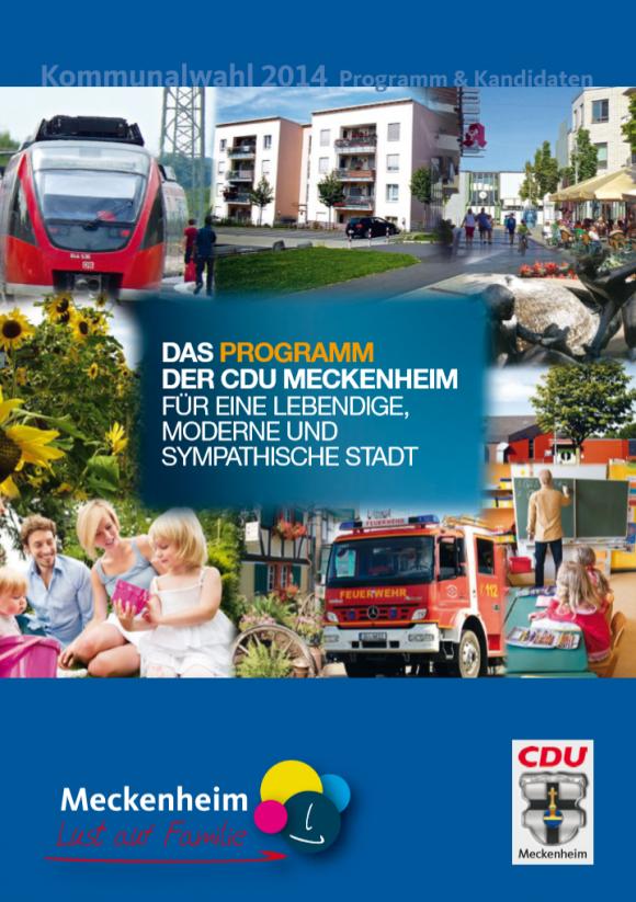 Meckenheimer Kurier 2014 Kommunalwahl