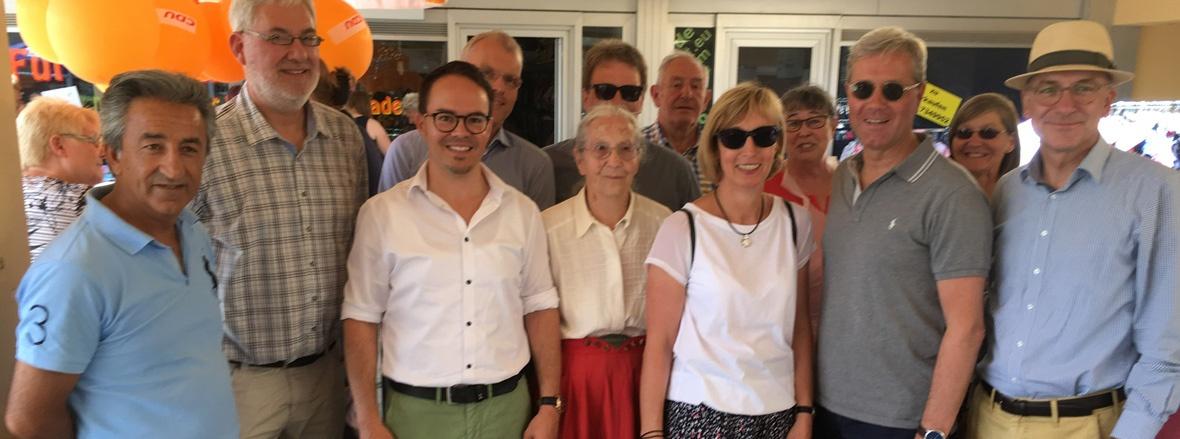 Samstag Heroldpassenfest in Meckenheim mit Dr. Norbert Röttgen