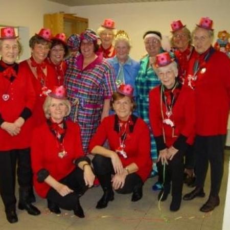 Karneval beim Seniorenkreis der FU