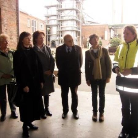 FU-Besuch Krautfabrik